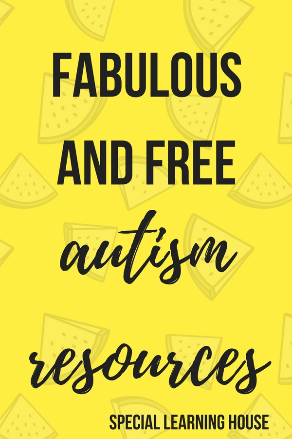 photo relating to Free Printable Resources for Autism referred to as Amazing and free of charge autism supplies for mothers and fathers - Unique