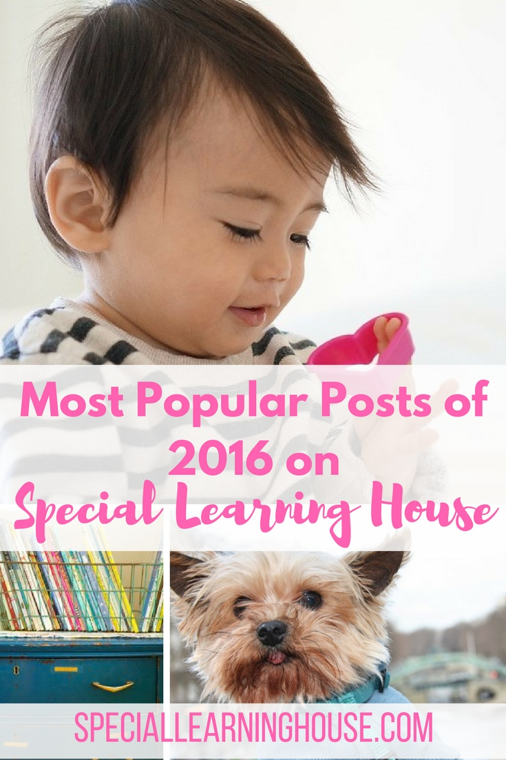 The Most Popular Posts of 2016.   speciallearninghouse.com