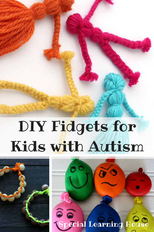 DIY Fidgets for Kids with Autism