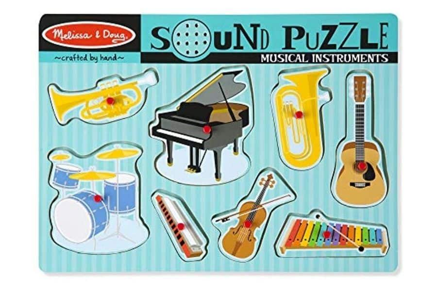 Puzzles for Autism - Musical Instruments Puzzle