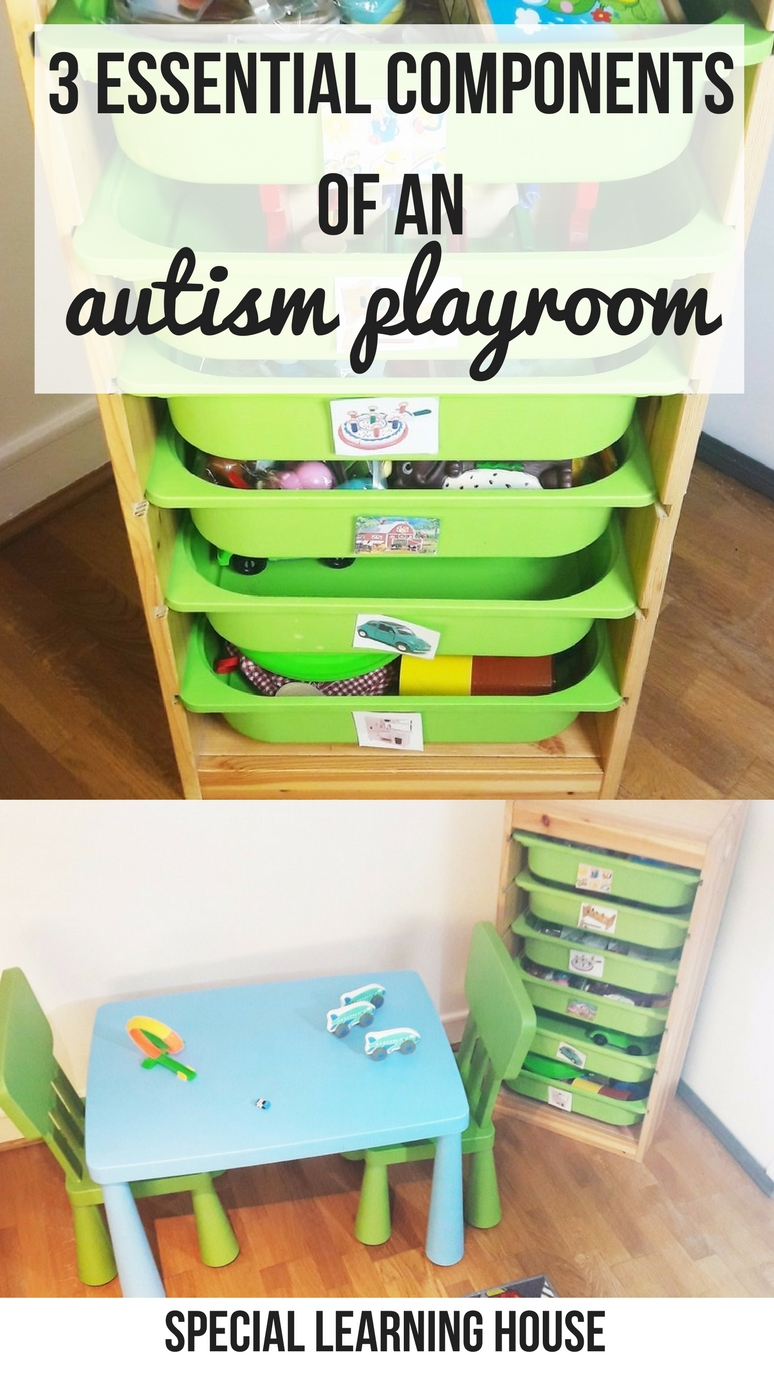 3 Essential components of an autism-friendly playroom. | speciallearninghouse.com