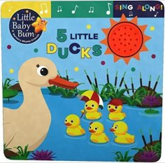 5 Little Ducks. Best Board Books for Kids with Autism. | speciallearninghouse.com