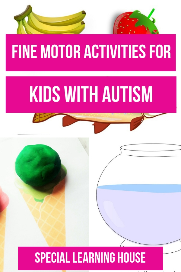 Fine Motor Activities for Kids with Autism
