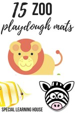 15 Zoo playdough mats #playdoughmat #playdough