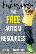 Fabulous & Free Autism Resources