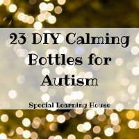 23 DIY Calming Bottles for Autism