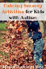 Calming Sensory Activities for Kids with Autism