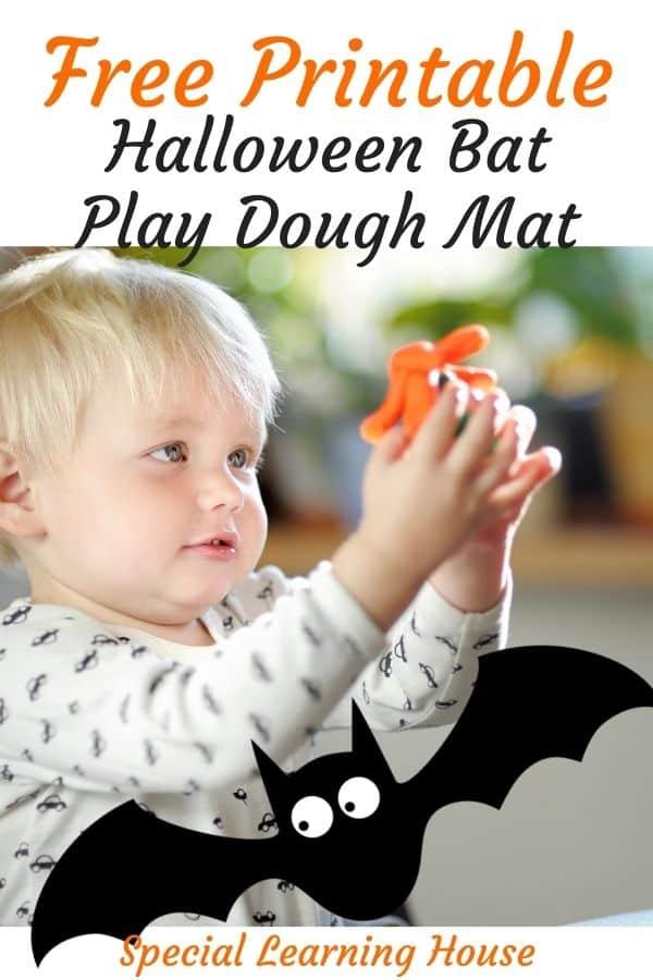 Free Printable Halloween Play Dough Mat 2