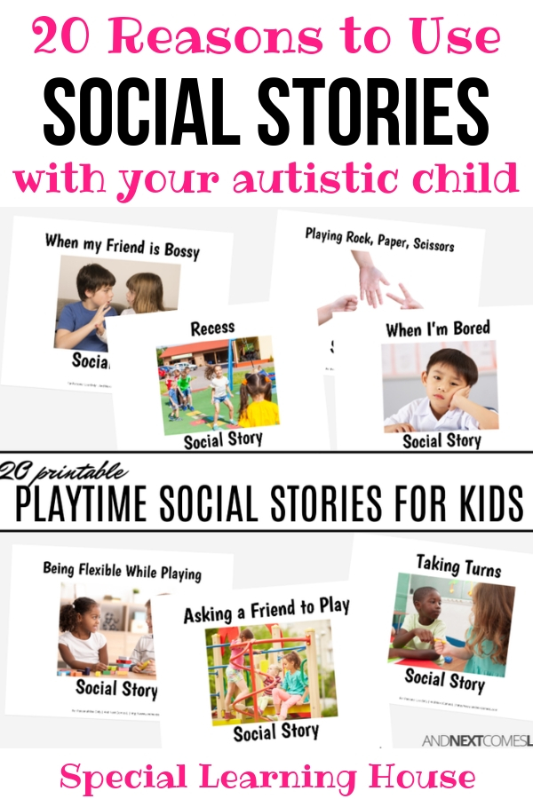 image about Printable Social Story identified as 20 motives in direction of hire printable social experiences toward practice young children