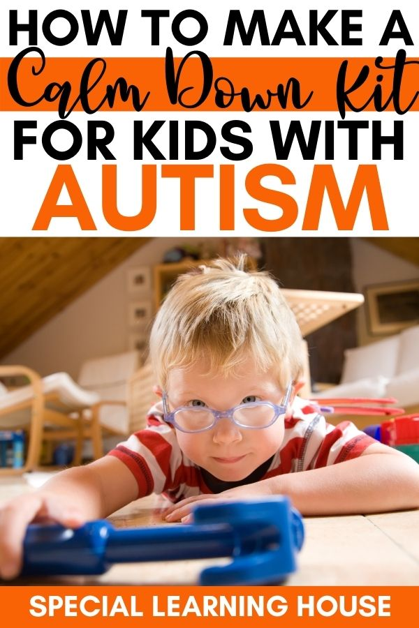 How to make a calm down kit for kids with autism 2