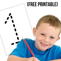 Free Number Tracing Worksheets for Kids with Autism