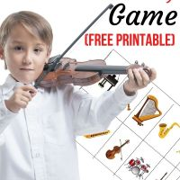 Instrument Matching Game (Free Printable for Kids with Autism)