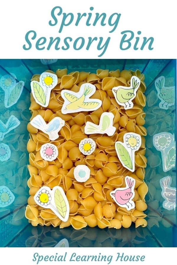 Spring Sensory Bin 2 Cover