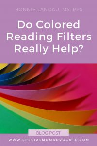 Irlen Syndrome | Contrast Sensitivity | Do Colored Reading Filters Really Help?