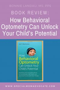Book Review: How Behavioral Optometry Can Unlock Your Child's Potential