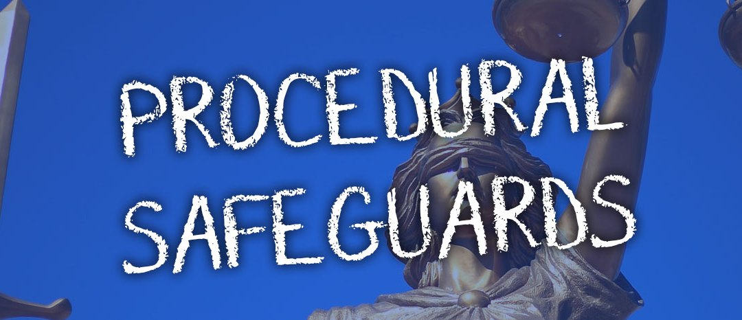 Special Ed Procedural Safeguards (Parent Rights) for Each State