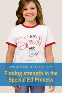 I'm Special Not Stupid - Special Education Learning Disability T-shirt