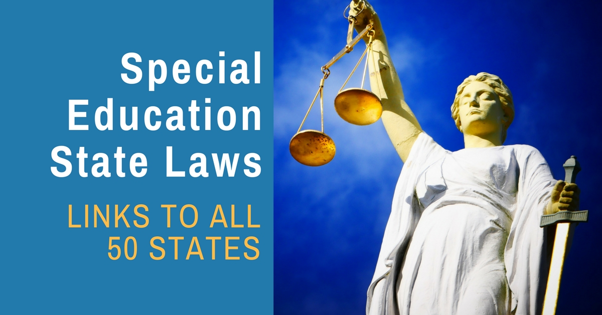 Procedural Safeguards Wyoming Department Of Education State >> Special Education Law In Each Of The 50 States Bonnie Landau