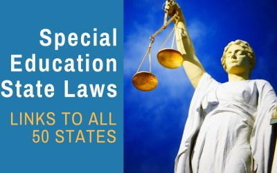 Special Education Law in Each of the 50 States