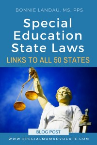Special Education Laws in all 50 States
