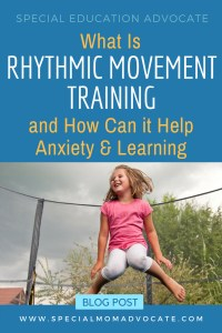Rhythmic Movement Training to help Learning Disabilities