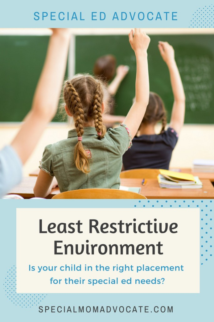 Special Education Least Restrictive Environment