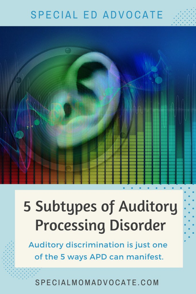 5 Subtypes of Auditory Processing Disorder