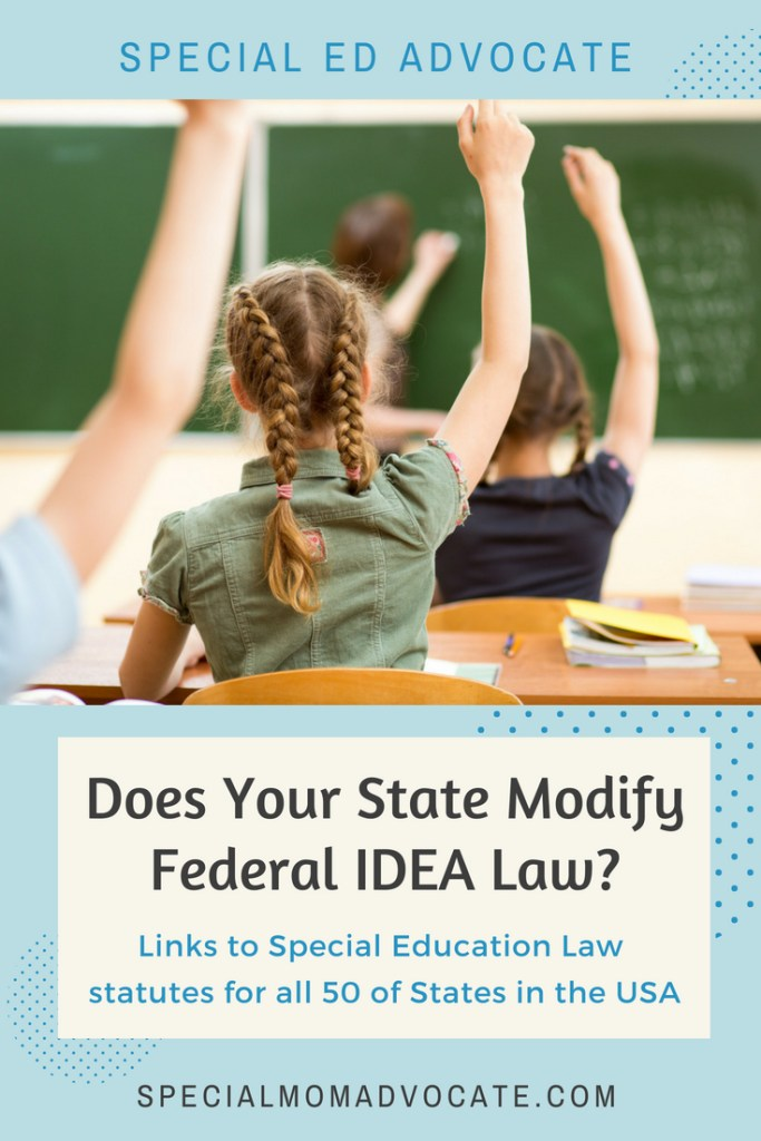 IDEA Law in all 50 USA States