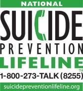 Suicide Prevention Hotline logo