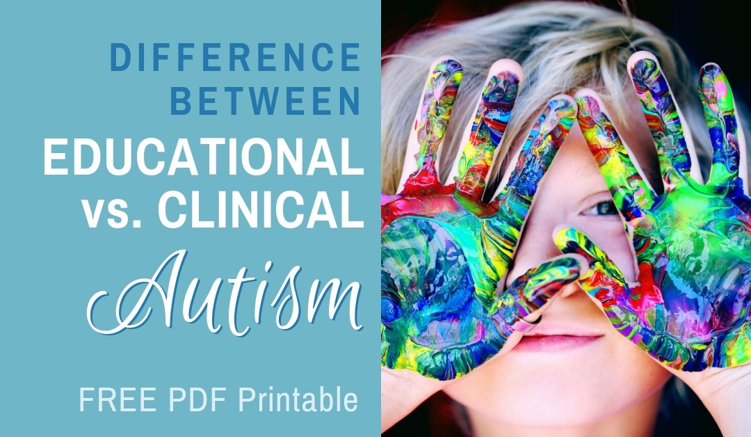 Difference Between Educational vs. Clinical Autism