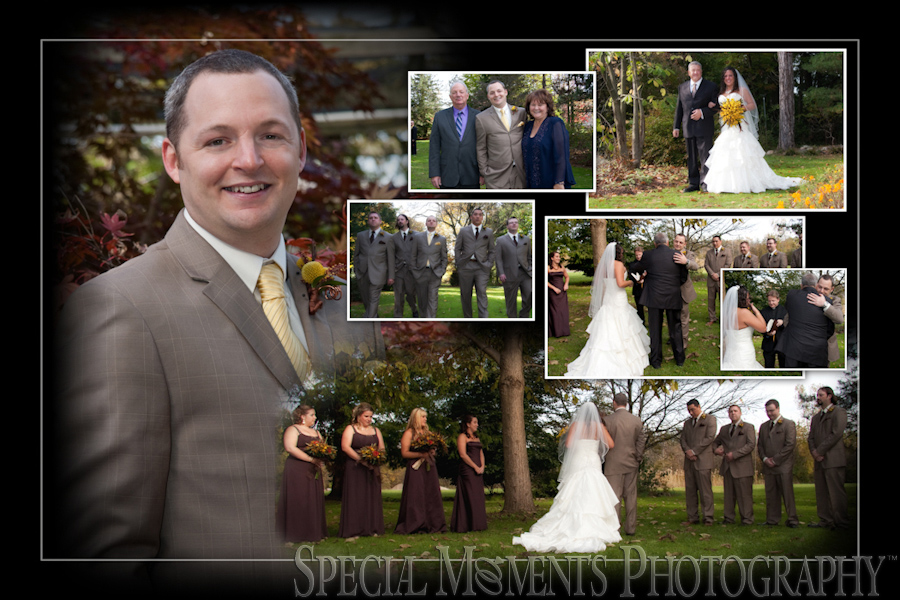 Westcroft Gardens Wedding Photograph Grosse Ile MI