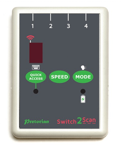 Switch2Scan iPad Switch Interface