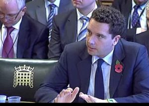 Edward Timpson giving evidence