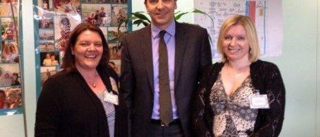 Special Needs Jungle meet SEN Minister, Edward Timpson