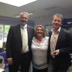 Nigel Utton, Debs & Nicky Campbell