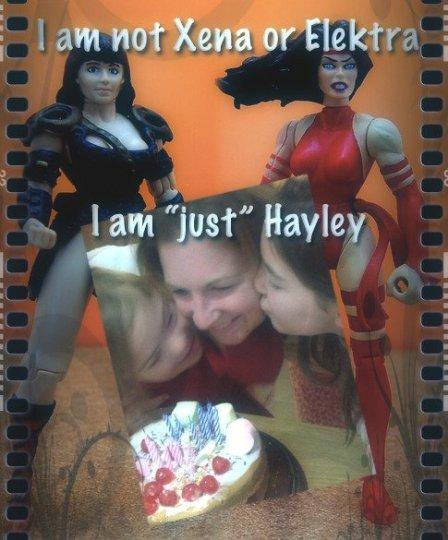 warrior hayley