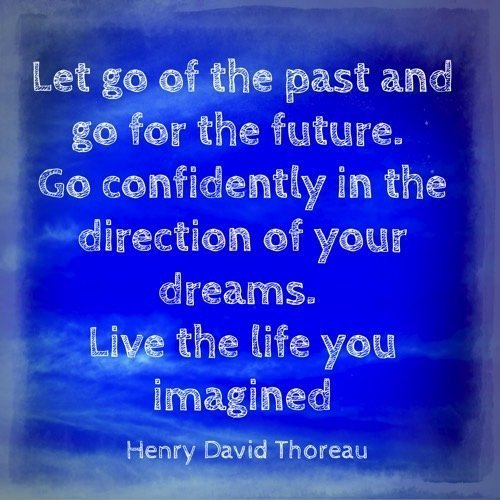 Image: let go of the past