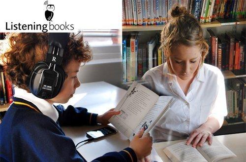 Listening books, children listening