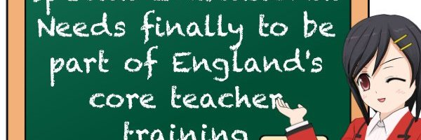 Special Educational Needs finally to be part of England's core teacher training