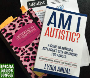 books about adults and women with autism