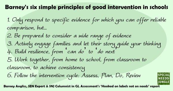 barney's six principles