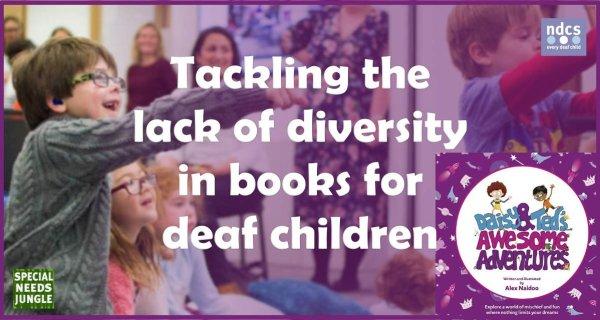 Tackling lack diversity books deaf children