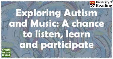 Exploring Autism and Music, a chance to listen, learn and participate