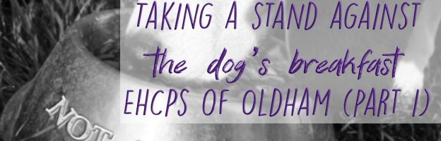 Taking a stand against the dog's breakfast EHCPs of Oldham (part 1)