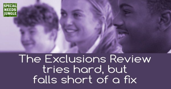 Exclusions Review tried hard but falls short of a fix