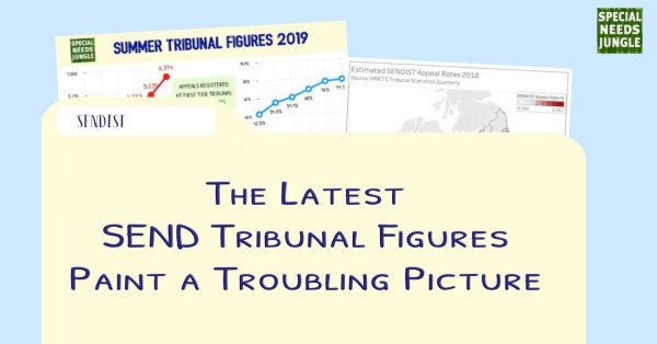 The latest SEND Tribunal figures paint a troubling picture