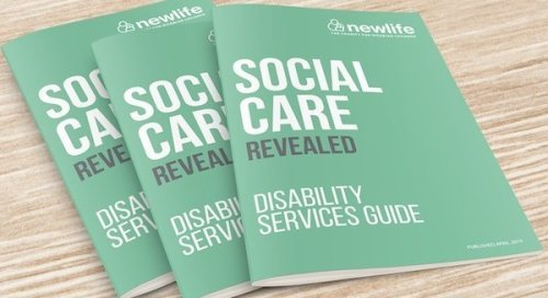 Image of Newlife social care guide book