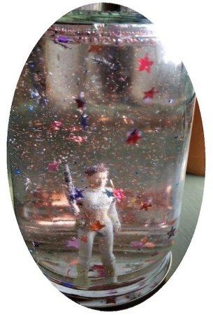 A Jo Grace settle jar