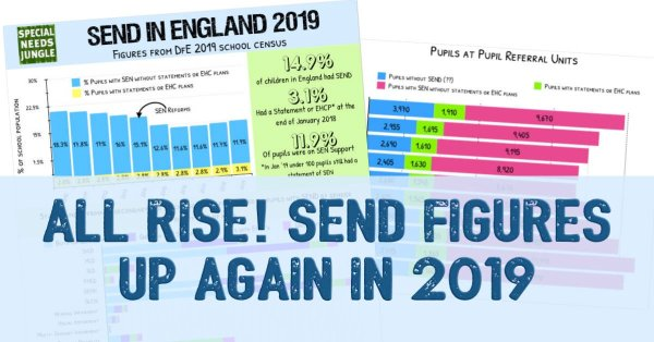 All rise! SEND figures up again in 2019