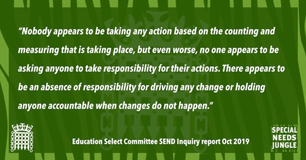 """""""Nobody appears to be taking any action based on the counting and measuring that is taking place, but even worse, no one appears to be asking anyone to take responsibility for their actions. There appears to be an absence of responsibility for driving any change or holding anyone accountable when changes do not happen."""""""